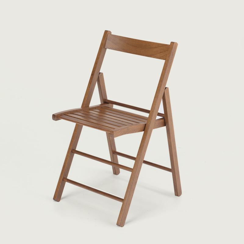 Bas - sedia pieghevole legno